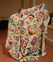 Claire Surovell - String Top Quilt