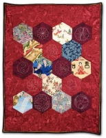 2nd Prize - Applique Hand Quilted' Small and Best Thread Work