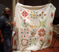 Gloria Johnson/Patricia Rycz - Cross Stitch Quilt