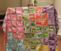 "Claire Surovell - ""How I Spent my Summer Vacation"" Quilt"